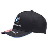 Puma BMW Logo 黑色 運動帽 老帽 聯名款 遮陽帽 六分割帽 經典棒球帽 運動帽 02154101
