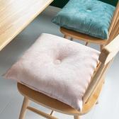 坐墊絨布棉加厚椅墊榻榻米地上防滑辦公室屁股墊教室方形凳子座墊 快速出貨