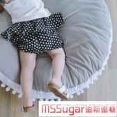 寶寶褲子夏2019新款女童小童嬰兒兒童夏季短褲外穿麵包褲大PP褲薄
