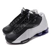 【六折特賣】Nike 籃球鞋 Shox BB4 銀 黑 紫 Vince Carter 彈簧鞋 男鞋 【ACS】 AT7843-001