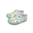native JEFFERSON PRINT 懶人鞋 洞洞鞋 白/淺綠 小童 童鞋 13100101-8962 no026