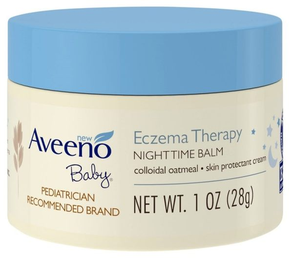 Aveeno Active Naturals 燕麥 寶寶夜間舒緩保濕乳膏 (無香/異敏) 28g 隨身瓶【彤彤小舖】