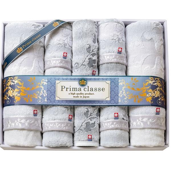 【日本製】【PRIMA CLASSE】 日本製 今治毛巾 浴巾 擦面巾 擦手巾 贈答禮品 八件組 SD-4052 - 日本製