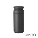 日本KINTO 隨行保溫瓶500ml-黑...