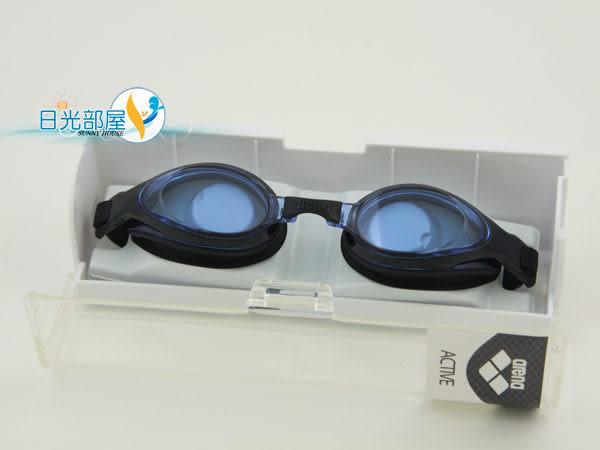 *日光部屋* arena (公司貨)/AGL-9500E-BBLU 觸感佳/舒適好游泳鏡