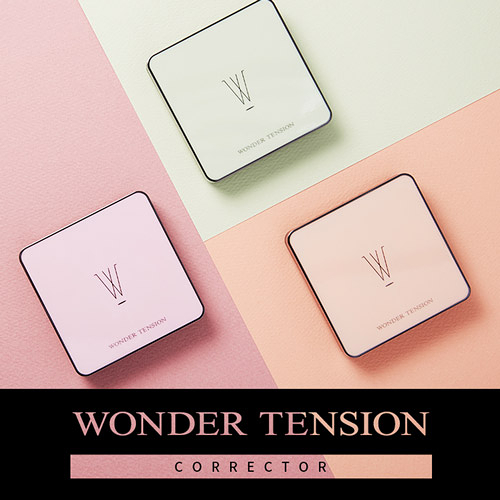 (短效下殺)韓國APIEU Wonder Tension Corrector Cushion 三色修飾氣墊 13g【UR8D】