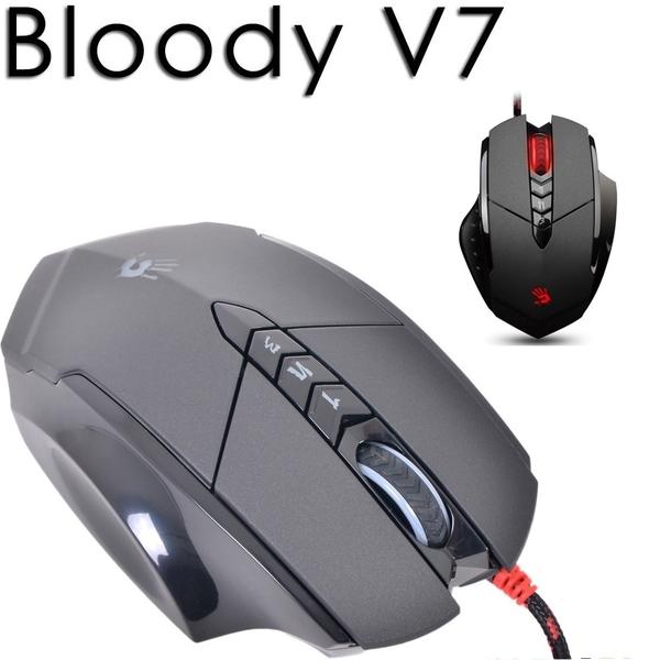 【Bloody】雙飛燕  血手令智慧多核 V7 (未激活)  贈 金屬腳墊