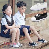 兒童運動鞋女童韓版板鞋男童