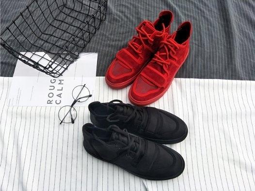 FINDSENSE Z1 日系 時尚 潮流 男士戶外 魔術貼綁帶 嘻哈小丑鞋 休