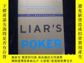 二手書博民逛書店Liar`s罕見Poker:Rising through the