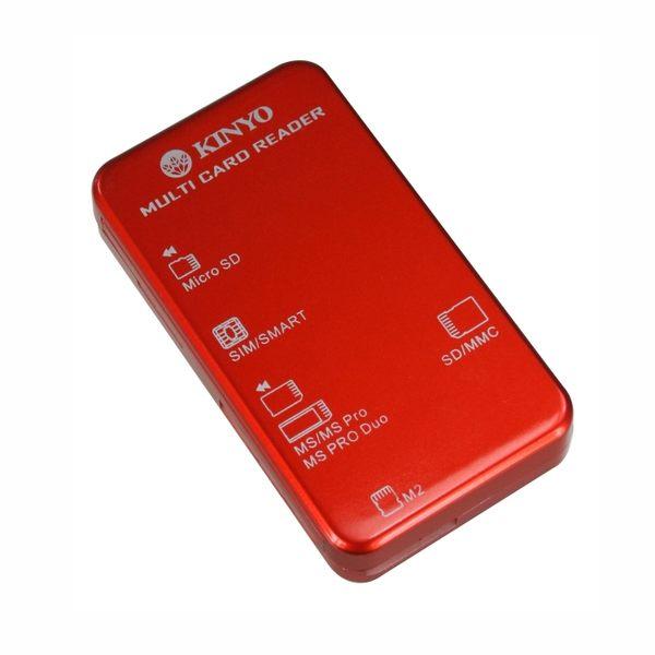 KINYO耐嘉 KCR-353 多合一晶片讀卡機 智慧晶片讀卡機 晶片讀卡機 多功能讀卡機【迪特軍】