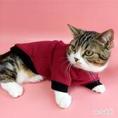 寵物衣服 貓咪衣服女秋冬裝貓衣服可愛小貓幼貓寵物服裝貓的衣服狗狗貓衣服 LN7363 【Sweet家居】