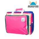 MOKUYOBI / Bedford Bag / L.A 空運繽紛多功能筆電手提後背包 - 亮桃色