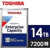 【南紡購物中心】TOSHIBA【企業碟】14TB 3.5吋 硬碟(MG07ACA14TE)