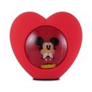 正版 Disney迪士尼 米奇米妮 米奇 LED USB心型小夜燈 床頭燈 擺飾燈 公仔擺飾 COCOS BB500