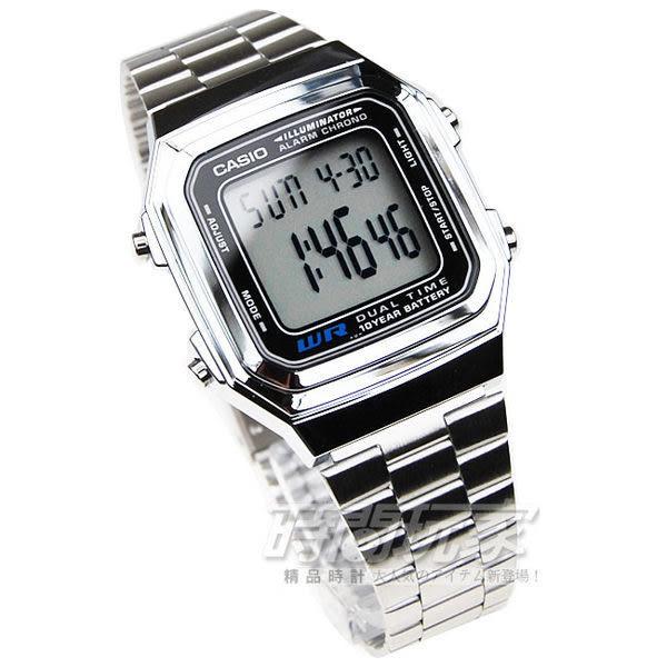 A178WA-1A 卡西歐 CASIO 方型 電子錶 33mm 男錶/女錶 /都適合 A178WA-1ADF