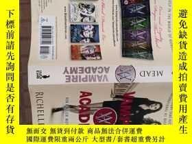 二手書博民逛書店Vampire罕見Academy Official Movie Tie-In Edition[吸血鬼學院,電影版]