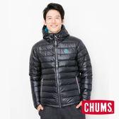 CHUMS 日本 男 600 fill兜帽羽絨外套 黑 CH041072K001