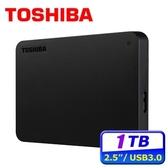 [富廉網]【Toshiba】Canvio Basics 黑靚潮lll 1TB 2.5吋 行動硬碟 (HDTB410AK3AA)