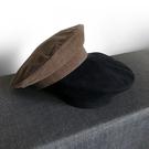 貝雷帽女畫家帽子男海軍帽韓版帽子英倫復古帽【繁星小鎮】