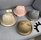 嬰兒帽寶寶夏季帽子厚款3-6-12個月嬰兒盆帽男童夏天遮陽帽女孩涼網帽
