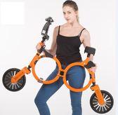 2018新款成人鋰電迷你小型兩輪代步便攜折疊電動車igo酷男精品館