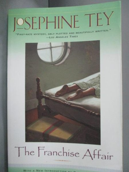 【書寶二手書T7/原文小說_HIR】The FRANCHISE AFFAIR_Tey, Josephine