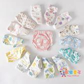 棉質紗布可洗寶寶訓練褲尿尿防漏學習褲嬰兒如廁隔尿褲兒童尿布褲