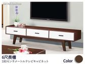 【德泰傢俱工廠】吉艾斯6尺長櫃/電視櫃
