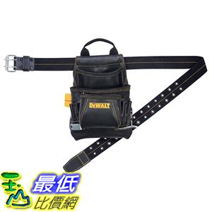 [美國直購] DEWALT DG5433 電子用具 工具包含腰帶 工具袋 10-Pocket Carpenter s Top Grain Leather Nail and Tool Bag