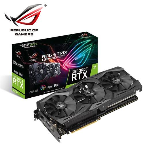 【ASUS 華碩】ROG STRIX-RTX2070-A8G-GAMING 顯示卡