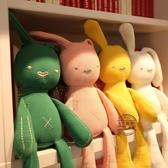 可咬安撫兔公仔毛絨玩具兒童睡覺抱枕布娃娃玩偶女孩寶寶生日禮物【快速出貨】