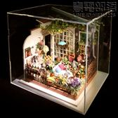 若態若來DIY小屋DG108米勒的陽光花園專用原裝亞克力防塵罩防灰塵