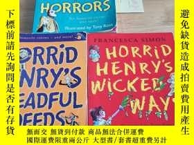 二手書博民逛書店HORRID罕見HENRY S HOUSE OF HORRORS HORRID HENRY S DREADFUL