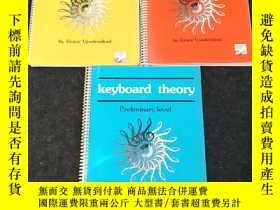二手書博民逛書店Keyboard罕見theory(鍵盤理論)Level 1、Le