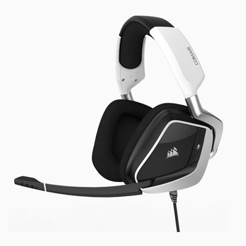 Corsair 海盜船 VOID PRO RGB USB高級遊戲耳機 白色