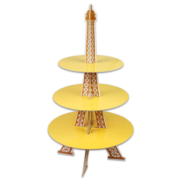 【甜手手】 鐵塔造型 派對架 三層蛋糕喜糖座【K067】下午茶蛋糕座/蛋糕架/宴會架/婚禮小物