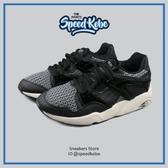 PUMA 休閒鞋 Blaze 黑白 編織 復古 慢跑 情侶鞋 男女 35999603【Speedkobe】