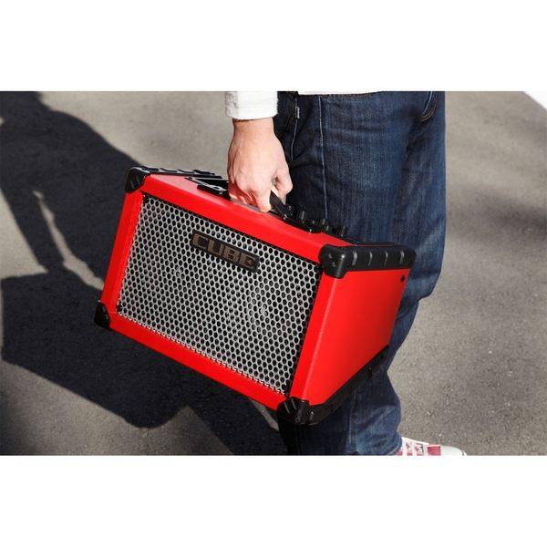 【非凡樂器】Roland CUBE Street 紅色款 電池供電立體聲擴大音箱 / 贈導線 公司貨保固