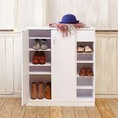 收納六層鞋櫃經典白(白色)