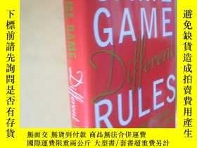 二手書博民逛書店英文原版罕見Same Game, Different Rules: How to Get Ahead Withou