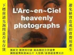 二手書博民逛書店larc罕見en ciel 彩虹樂隊絕版寫真集1995《heavenly photographs》Y46156