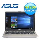 Asus 華碩 X541NA-0021AN4200 15.6吋四核心筆電 神秘黑 N4200/4GB DDR3/500G