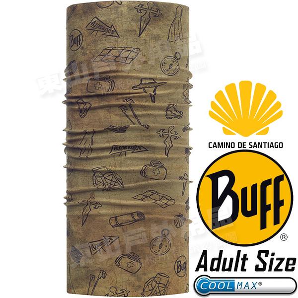 BUFF 117134.313_聖雅各授權 Adult UV Protection魔術頭巾 Coolmax防臭抗菌圍巾 東山戶外