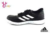 adidas AltaSport CF K 運動鞋 中童 皮面 休閒板鞋 P9390#黑色◆OSOME奧森童鞋