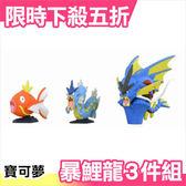 日本 Takara Tomy 超進化暴鯉龍 3件組 神奇寶貝 pokemon【小福部屋】