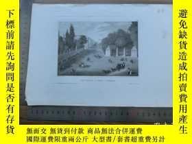 二手書博民逛書店【罕見】19世紀 銅 鋼版畫 單幅 RUB ROYALE( 20