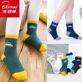 兒童襪子秋冬中筒襪男童女童中大童純棉寶寶襪  萬客居