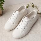 休閒純色小白鞋帆布鞋【CC030】