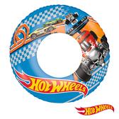 美泰兒 MATTEL Hot Wheels。22吋風火輪汽車充氣泳圈